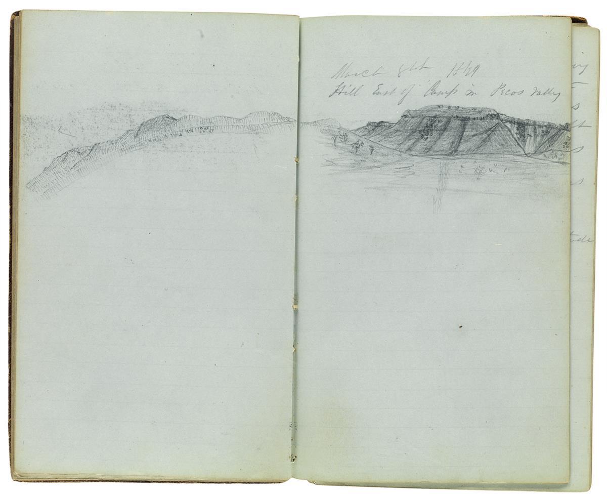 (TEXAS)-Smith-William-Farrar-Manuscript-diary-of-an-expediti
