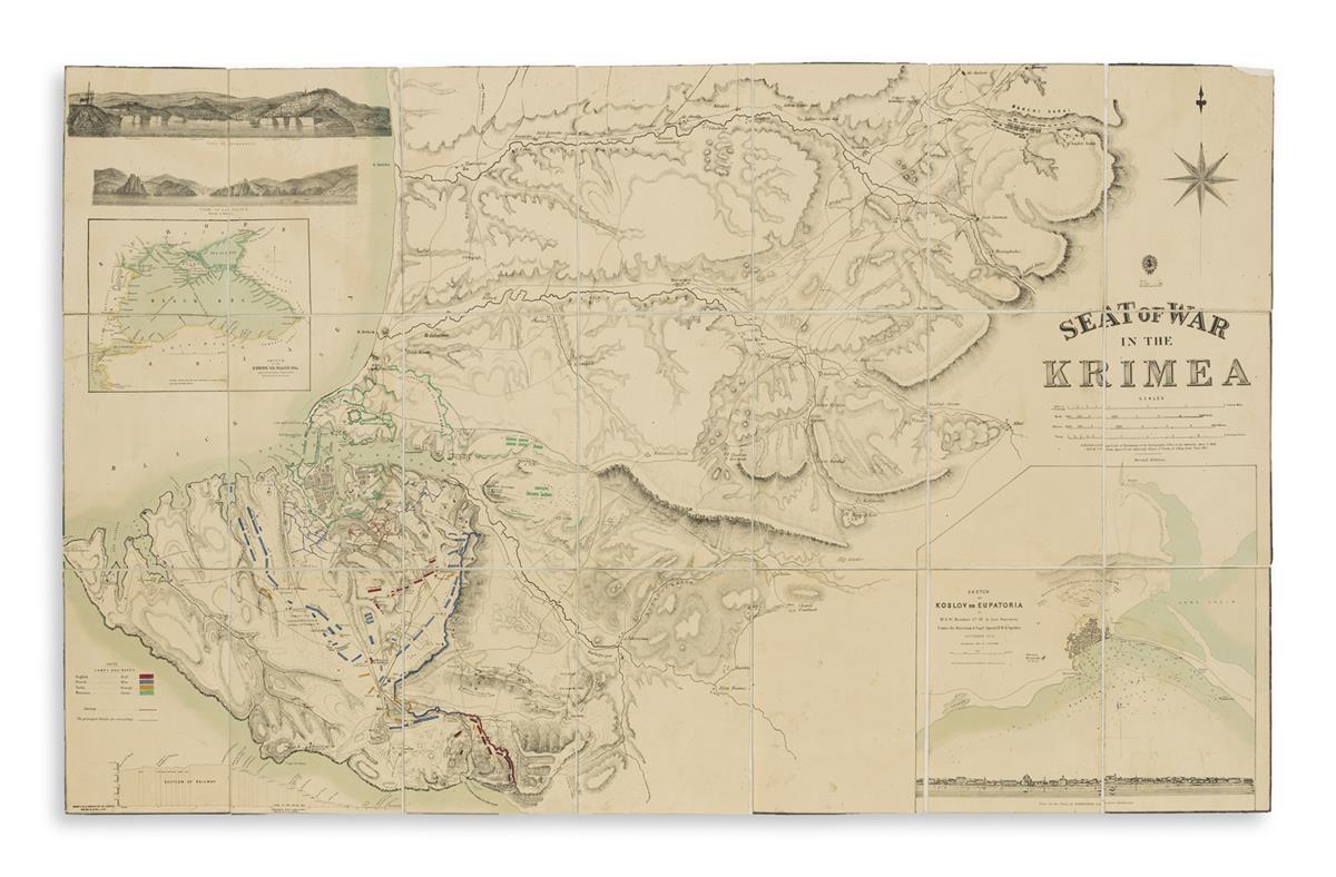 (CRIMEAN WAR.) Lowrie, W. Seat of War in the Krimea.