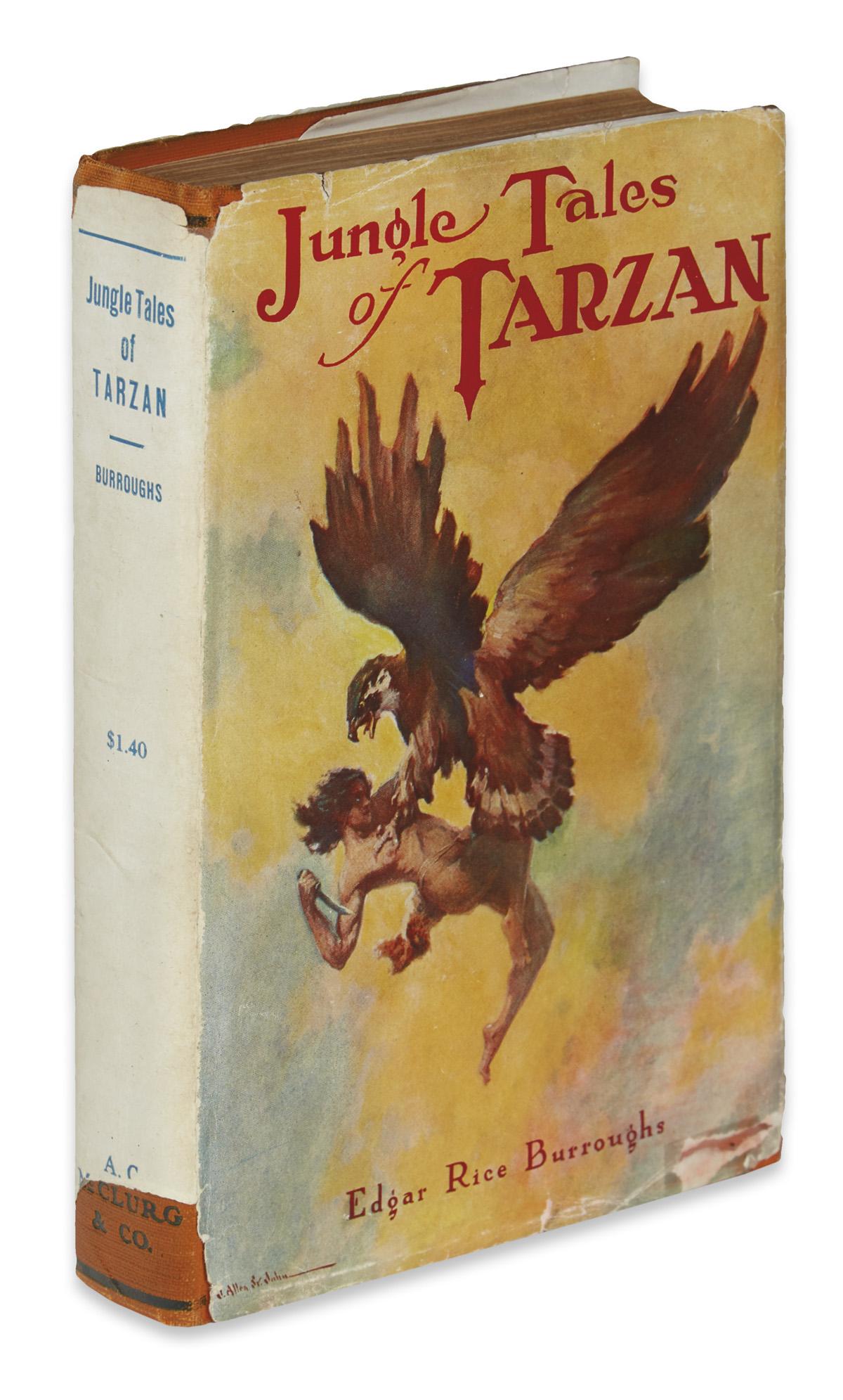BURROUGHS-EDGAR-RICE-Jungle-Tales-of-Tarzan