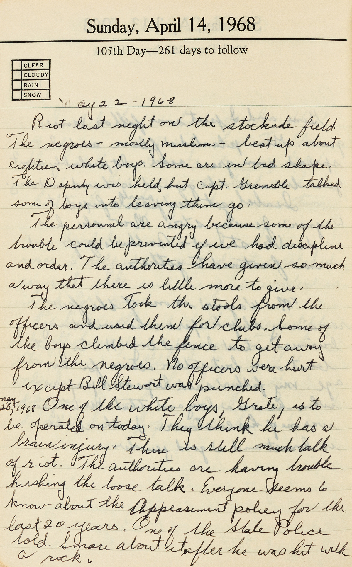 (CIVIL-RIGHTS)-Arthur-H-Snyder-Diary-of-a-prison-educator-du
