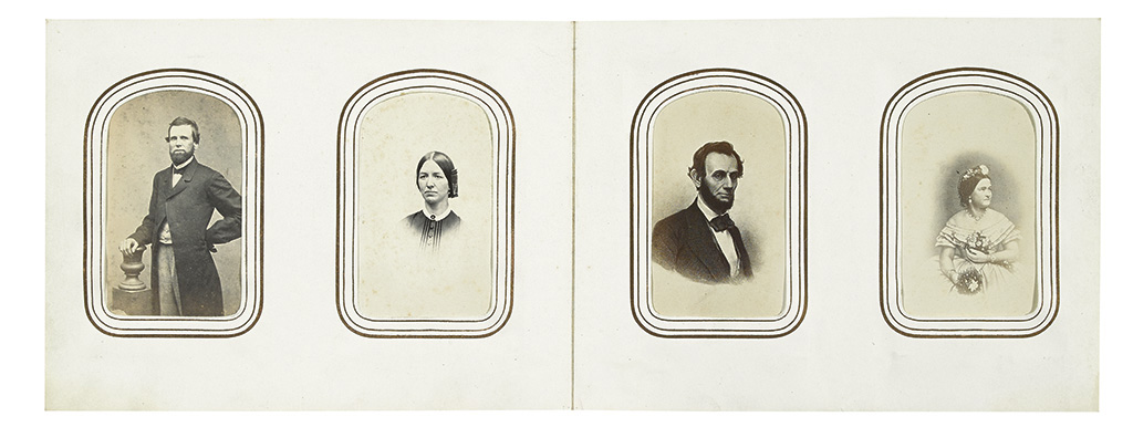 (MILITARY--CIVIL WAR--PHOTOGRAPHY.) BEALS, CHARLES EMERY The Beals family photograph album.