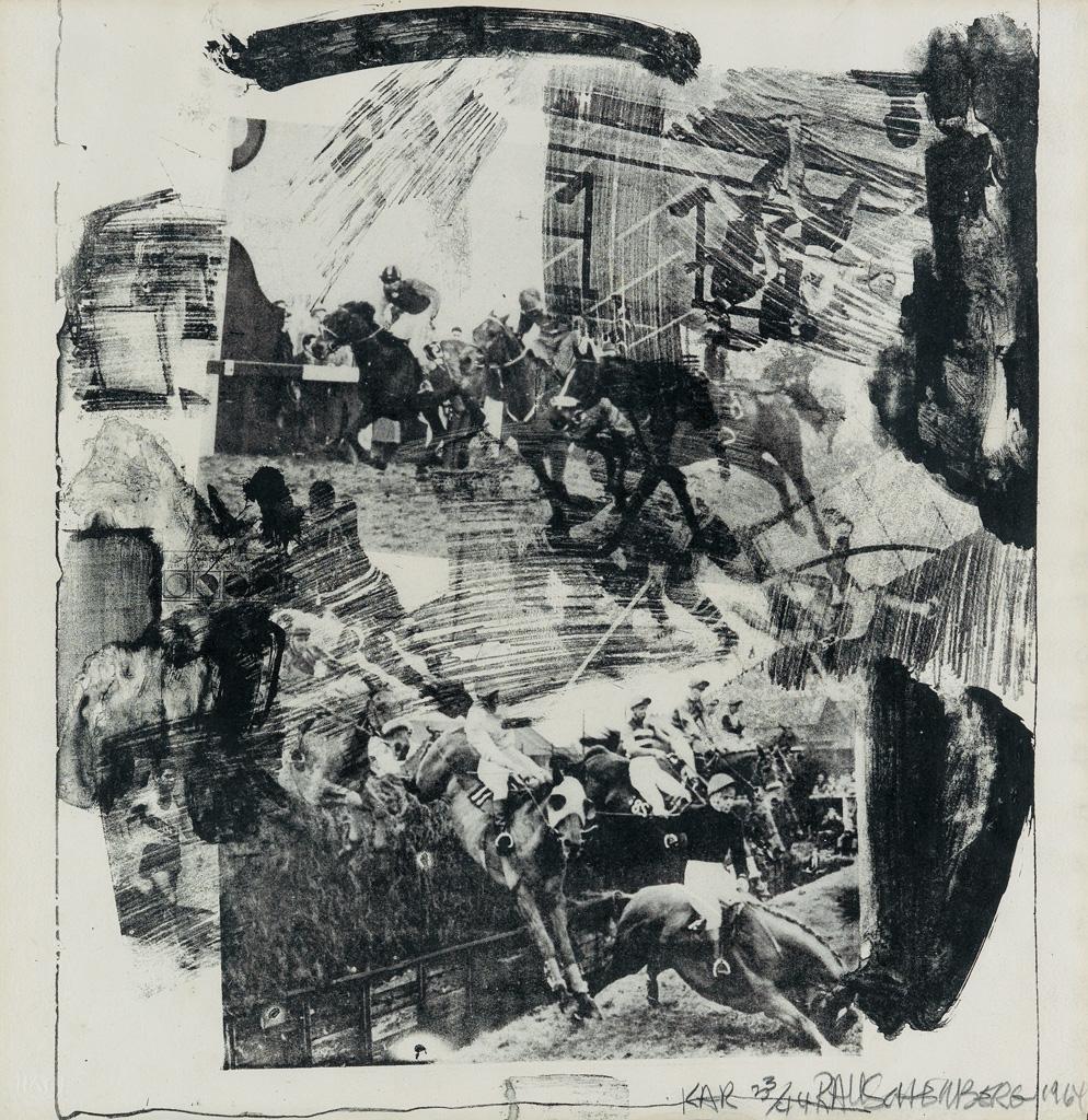 ROBERT RAUSCHENBERG XXXIV Drawings for Dantes Inferno.