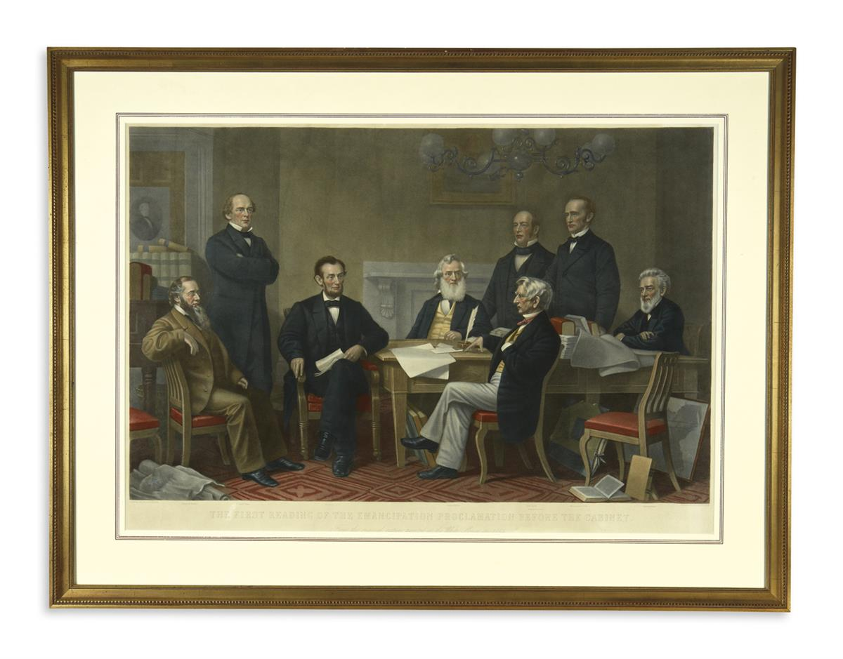 (PRINTS--EMANCIPATION)-Ritchie-Alexander-H-engraver-The-Firs