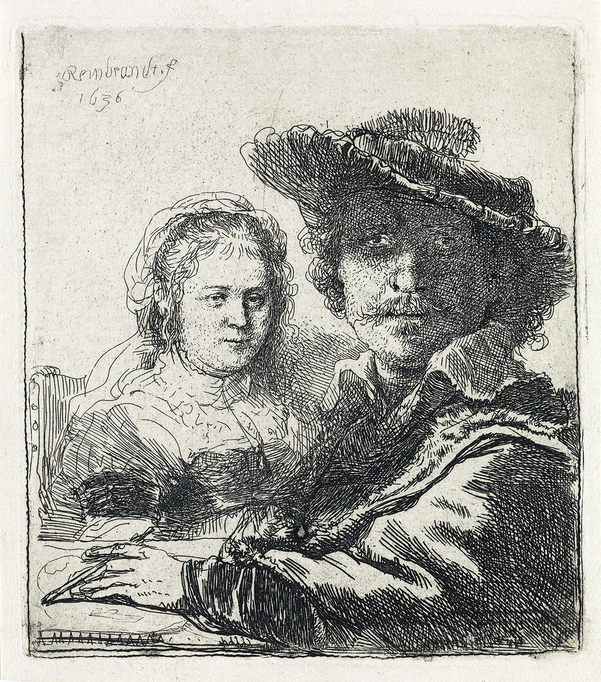 REMBRANDT-VAN-RIJN-Self-Portrait-with-Saskia
