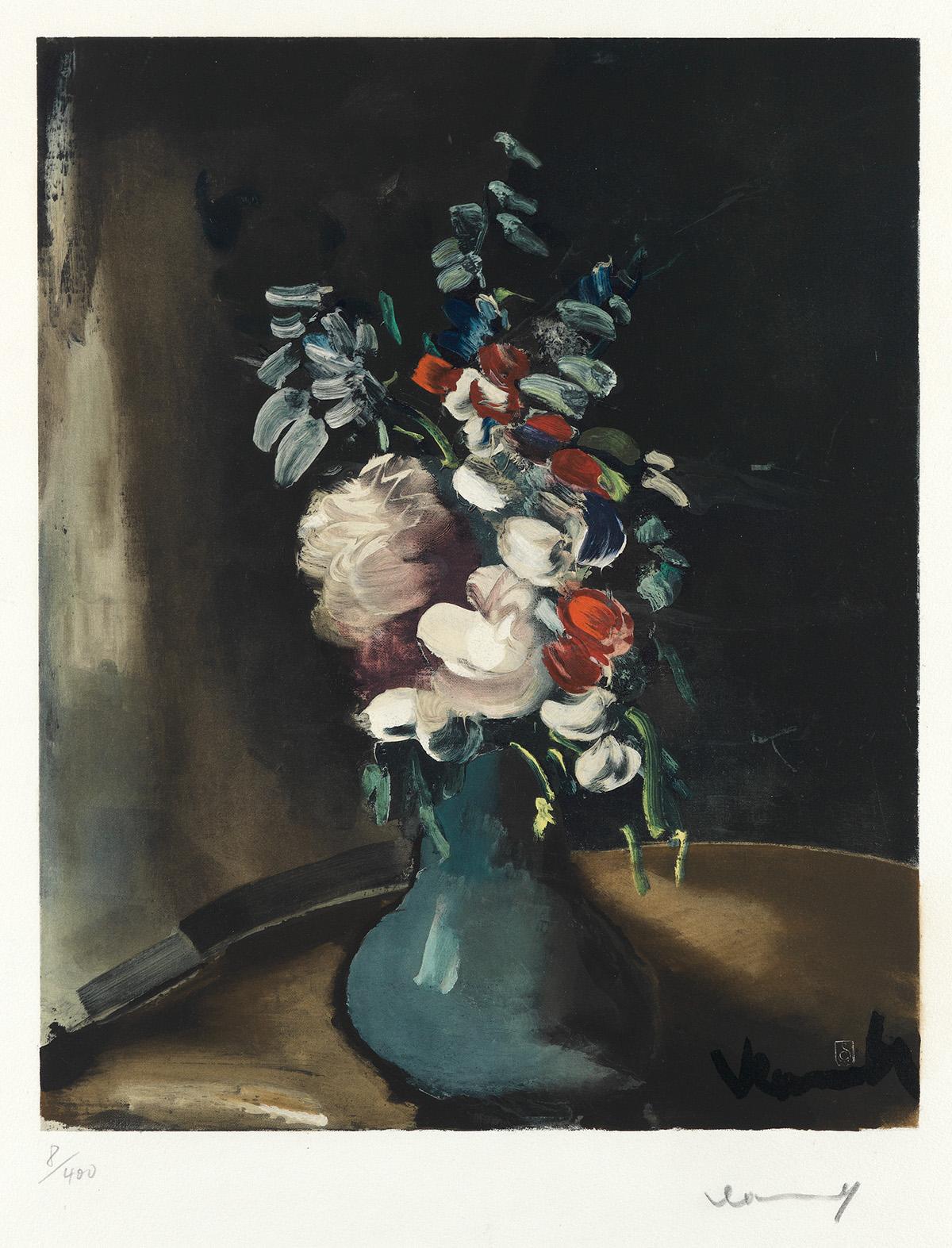 MAURICE DE VLAMINCK (after) Bouquet de Fleurs
