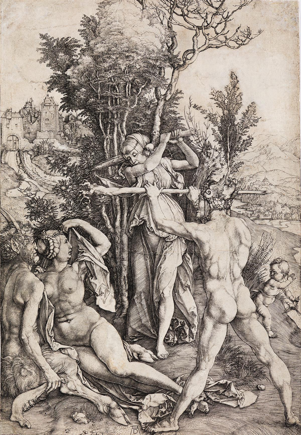 ALBRECHT DÜRER Hercules, or the Effects of Jealousy.