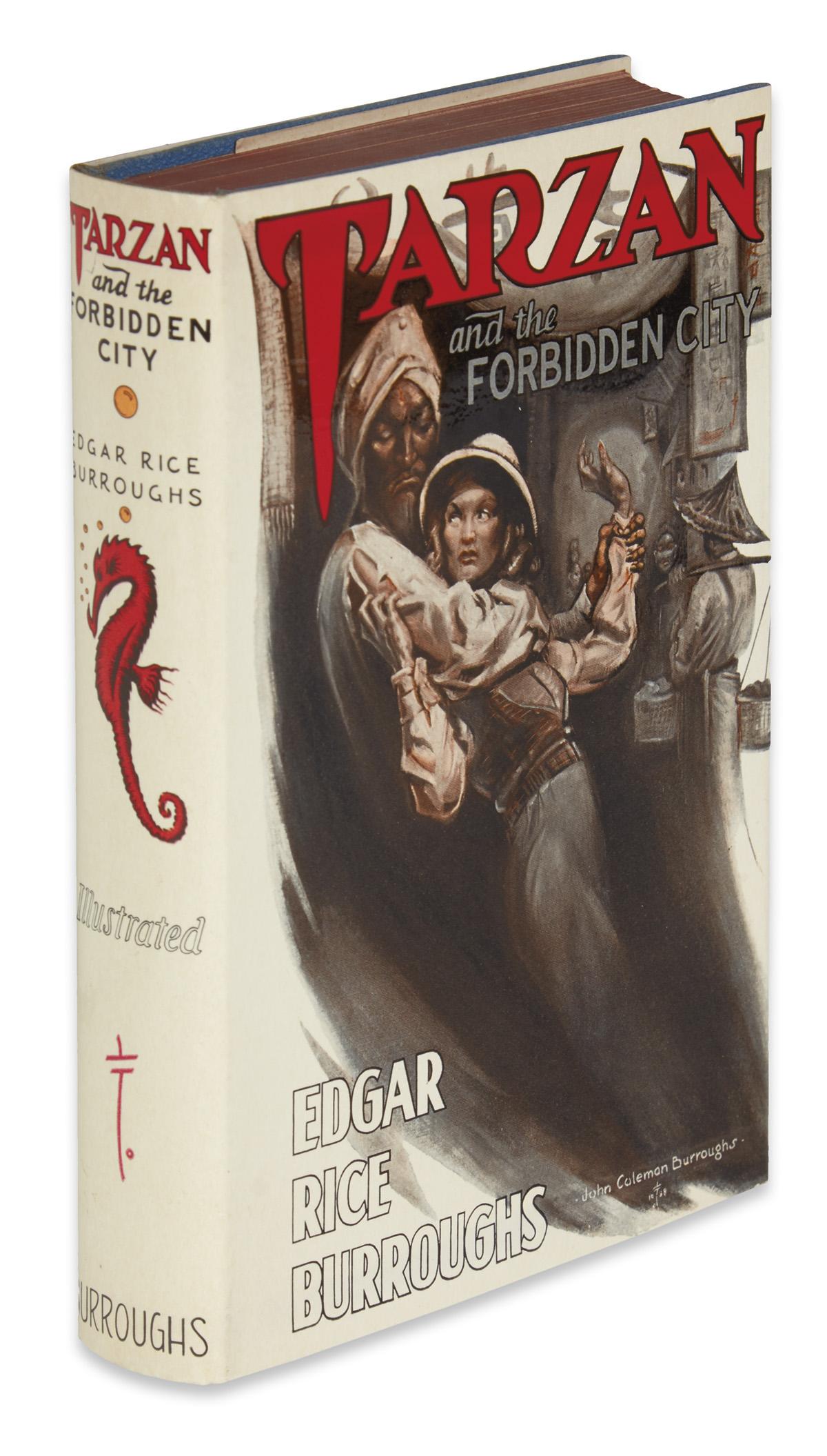 BURROUGHS-EDGAR-RICE-Tarzan-and-the-Forbidden-City