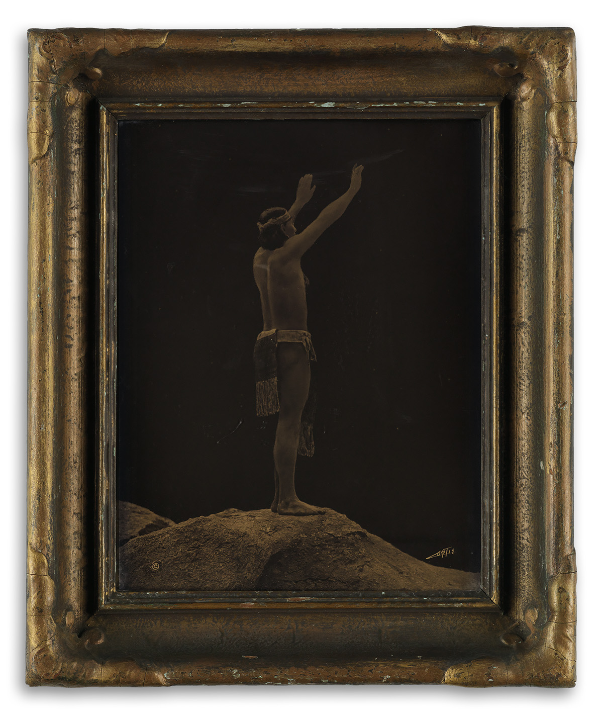 EDWARD-S-CURTIS-(1868-1952)-Prayer-to-the-Stars