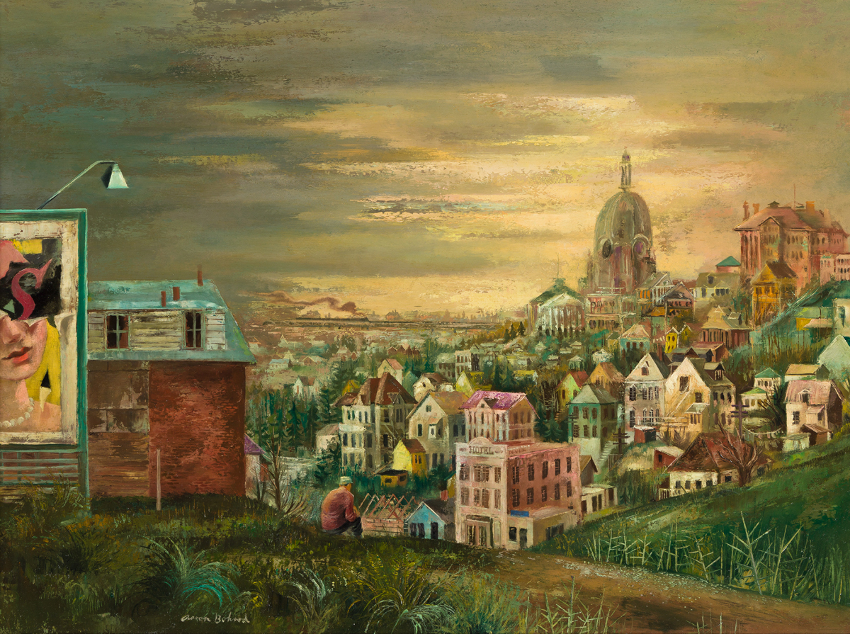 AARON BOHROD View from the Hill.