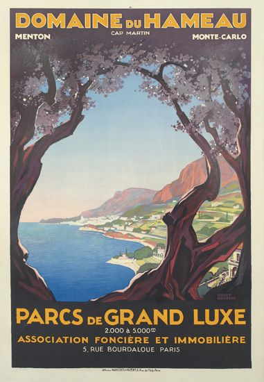 ROGER-BRODERS-(1883-1953)-DOMAINE-DU-HAMEAU-Circa-1928-47x32