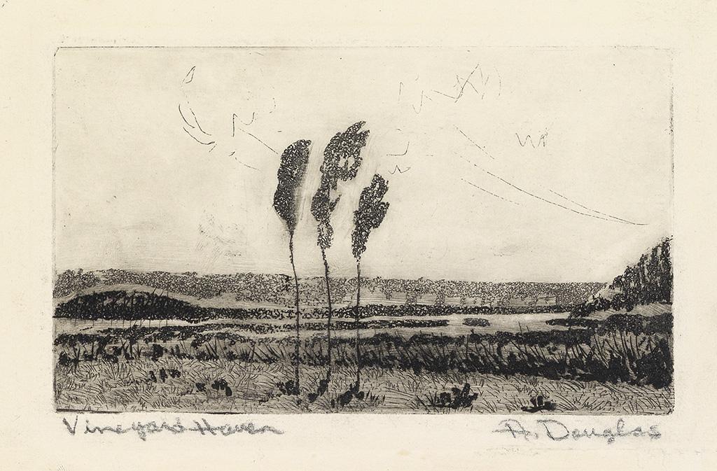 AARON DOUGLAS (1899 - 1979) Vineyard Haven.