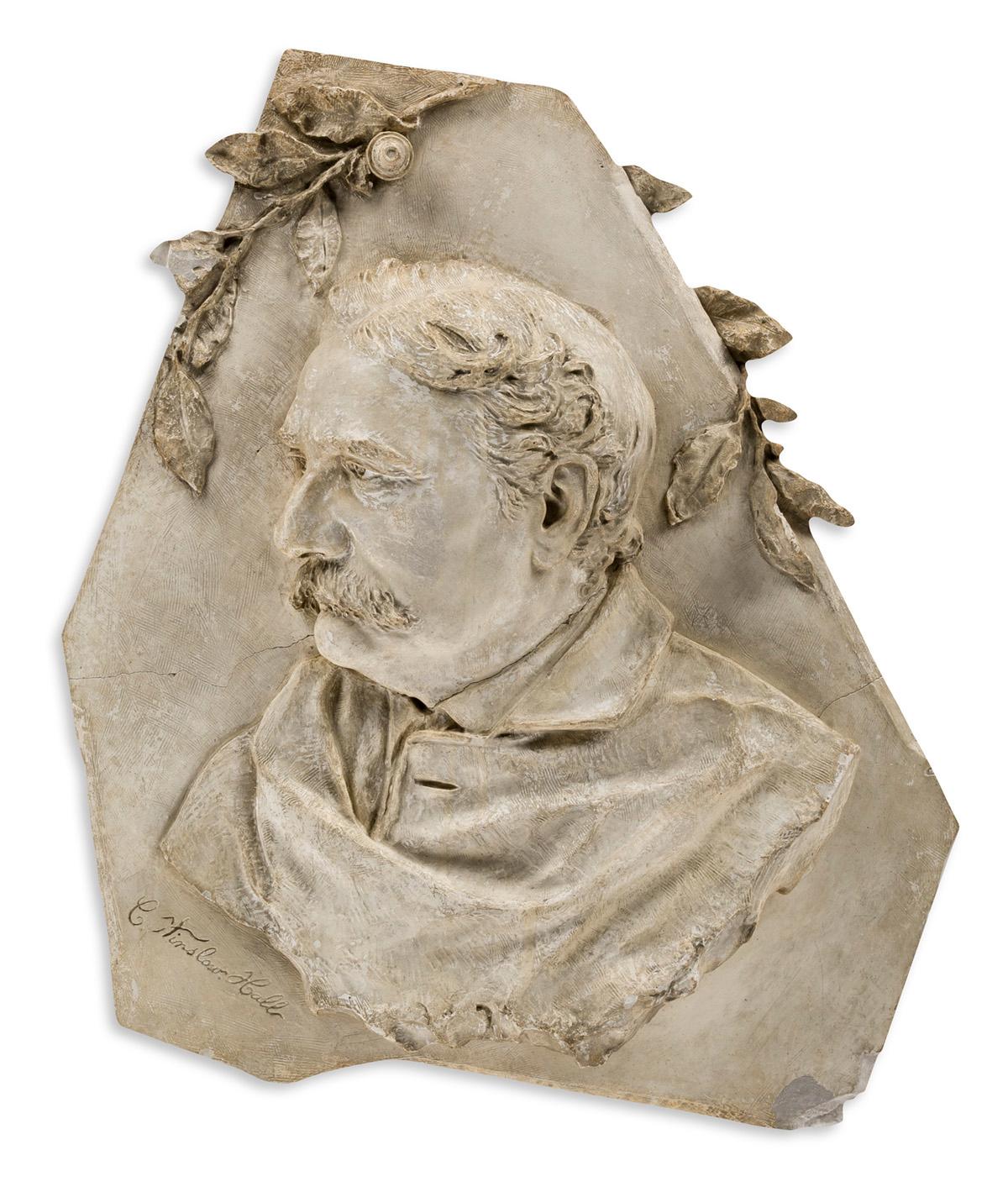 CHARLES WINSLOW HALL, (1860-1901) Portrait of Joseph Frank Currier