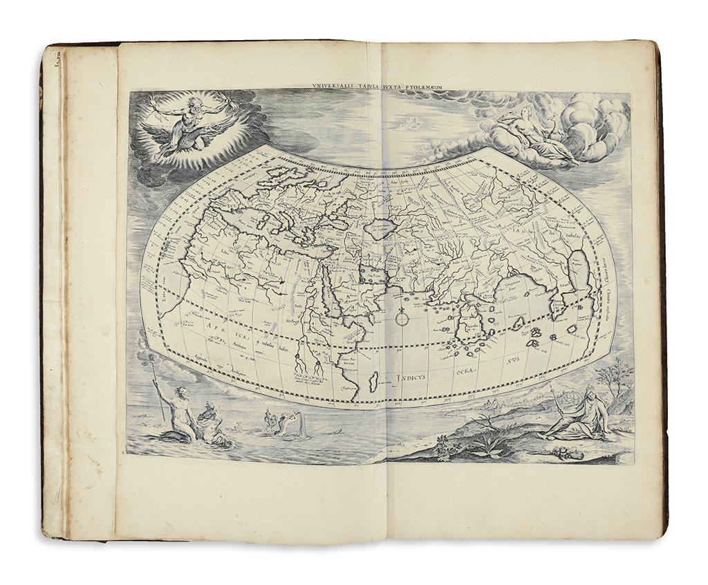 PTOLEMAUS, CLAUDIUS and; MERCATOR, GERARDUS. Orbis Antiqui Tabulae Geographicae Secundum Cl. Ptolemaeum.