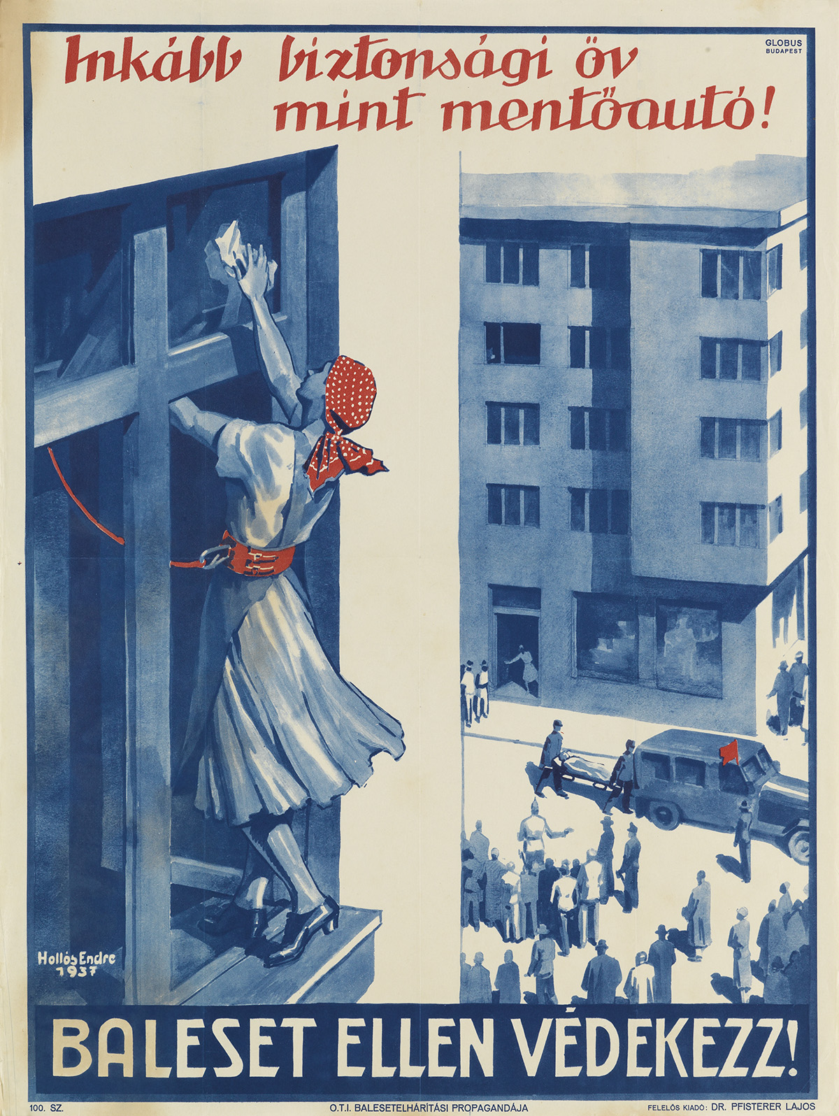 VARIOUS-ARTISTS-[HUNGARIAN-WORK-SAFETY]-Group-of-26-posters-