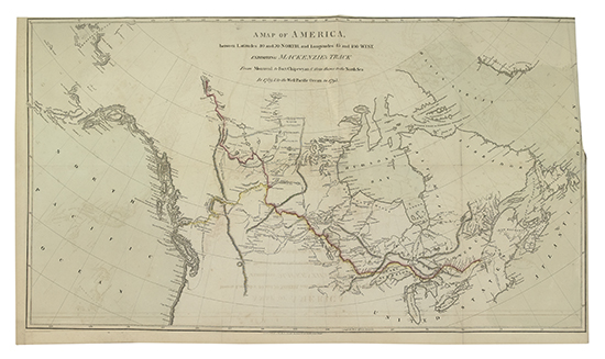 (ARCTIC--CANADA.) Mackenzie, Alexander. Voyages from Montreal, on the River St. Laurence,