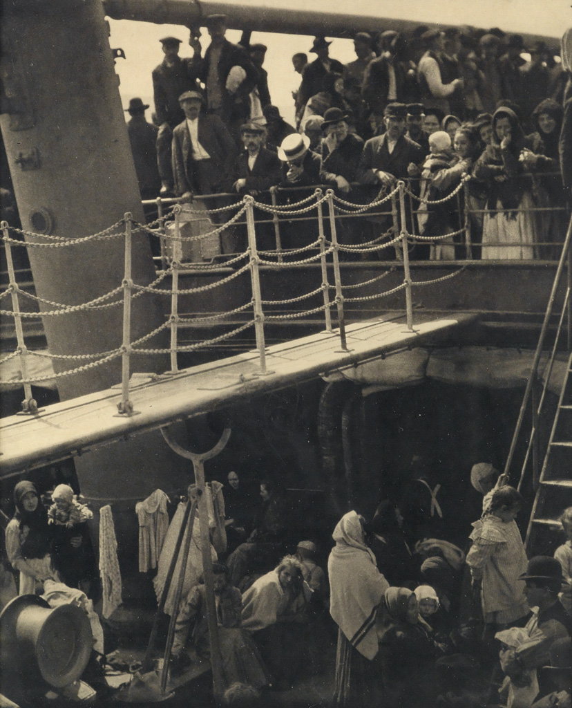ALFRED-STIEGLITZ-(1864-1946)-The-Steerage-from-291-Number-7-
