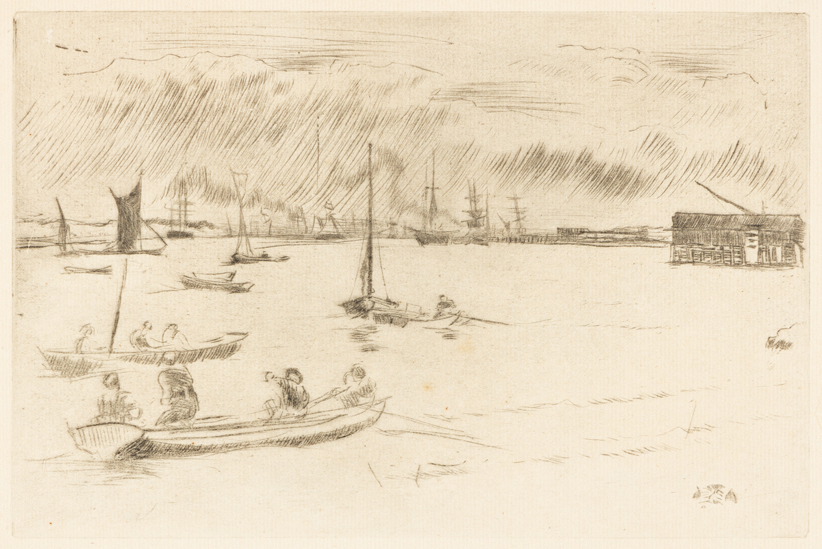 JAMES A. M. WHISTLER Greenhithe.