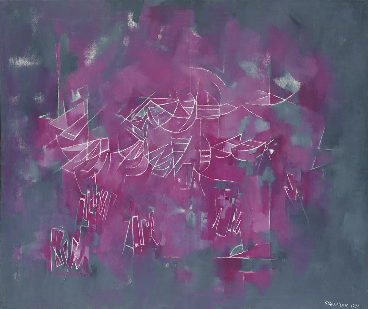 NORMAN-LEWIS-(1909---1979)-Block-Island