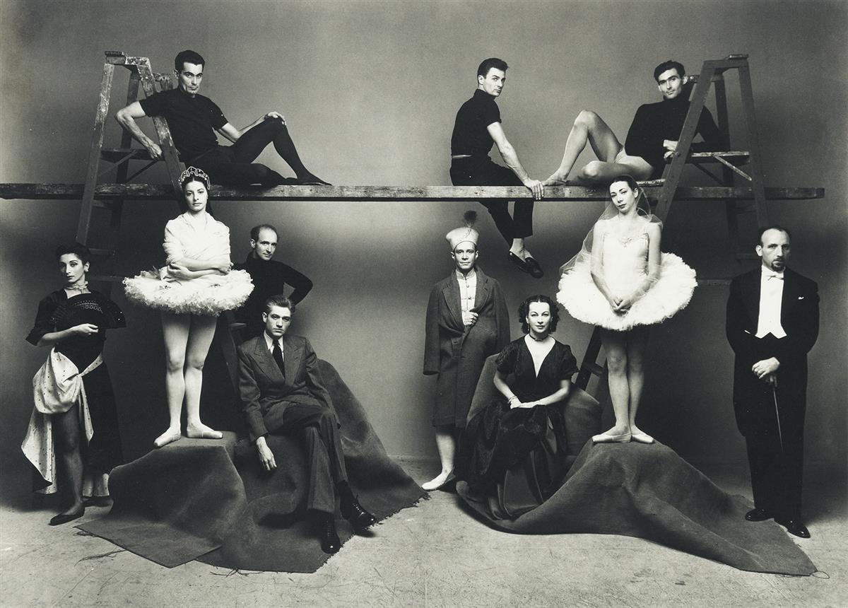 IRVING-PENN-(1917-2009)-American-Ballet-Theatre