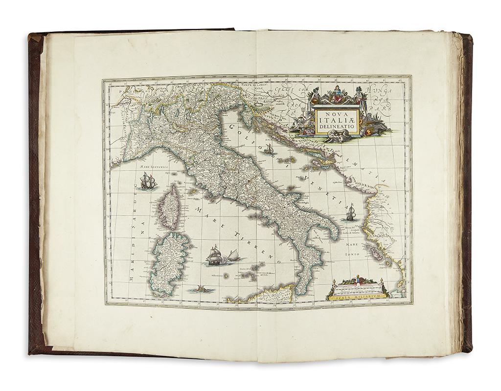 (ITALY.) Blaeu, Willem; and Blaeu Johannes. Toonneel des Aerdrycx ost Nieuwe Atlas. Derde Deel.
