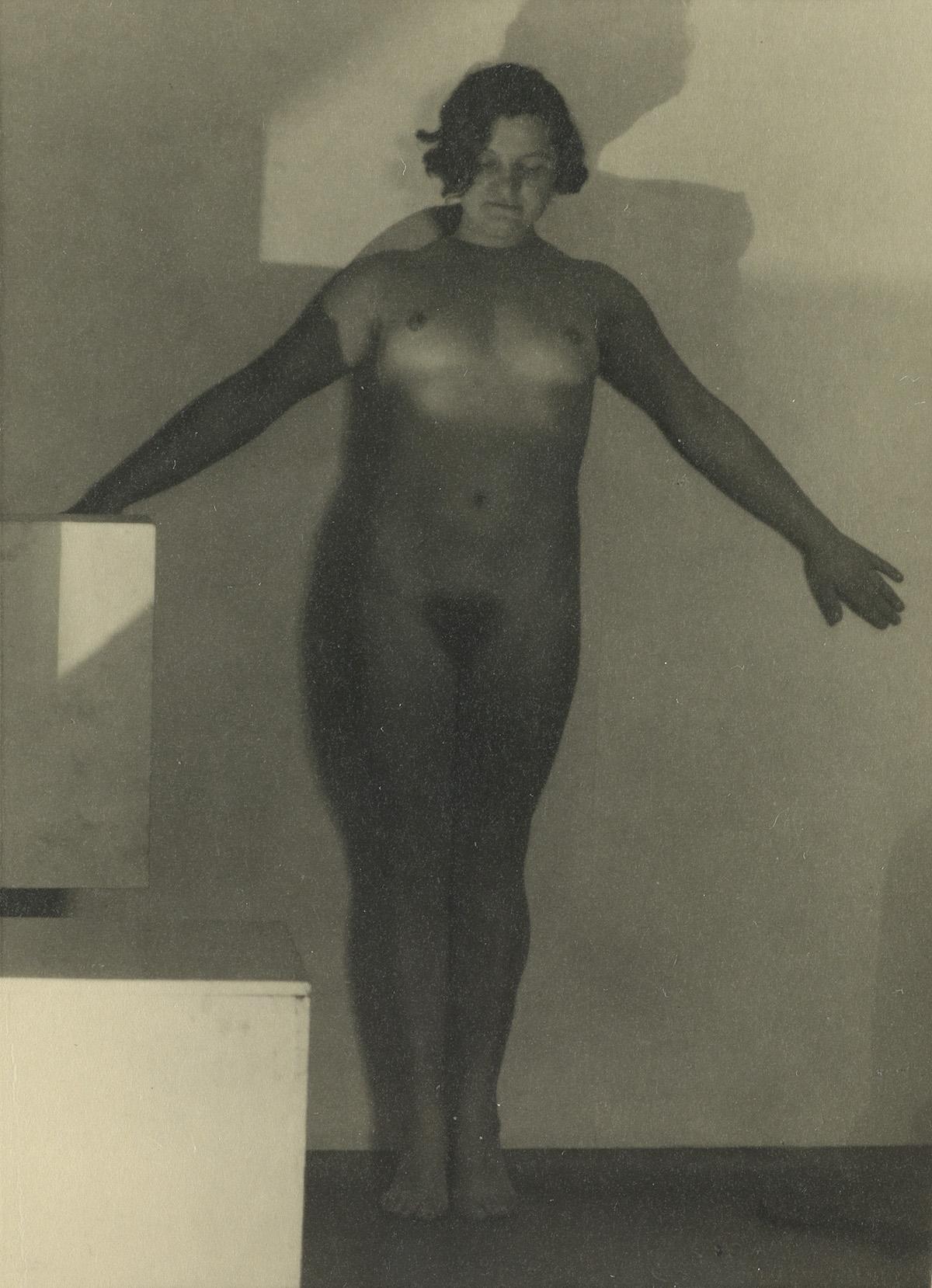 FRANTIŠEK-DRTIKOL-(1868-1944)-Pair-of-real-photo-postcard-nu