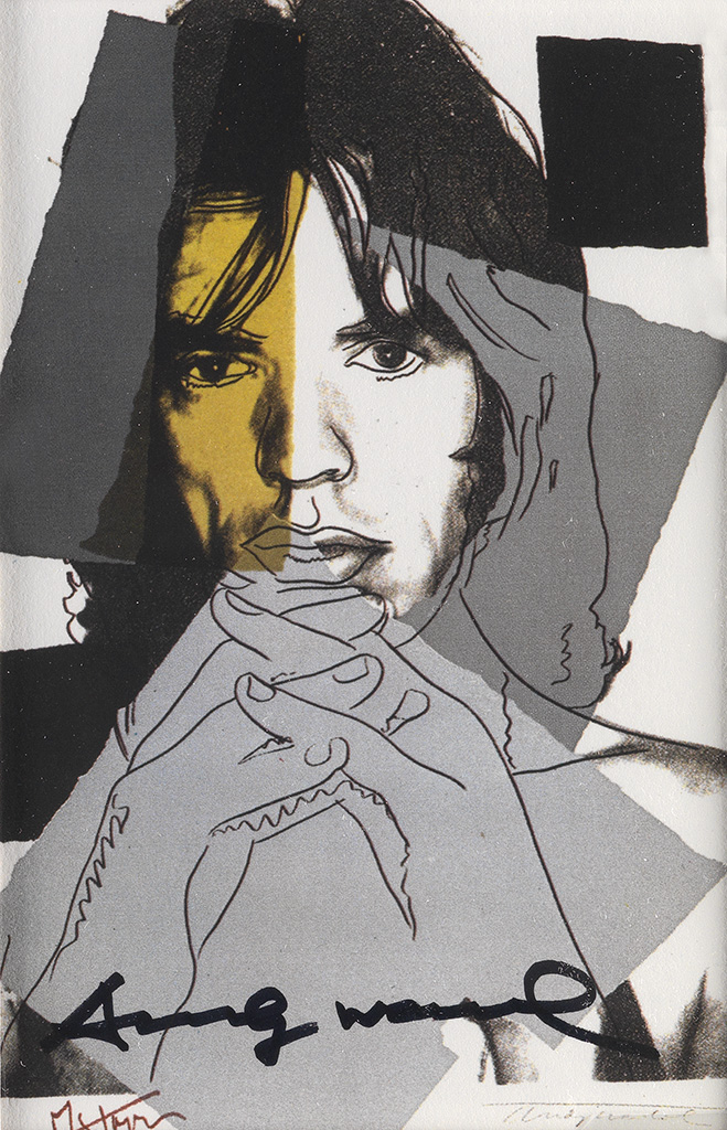 ANDY WARHOL (after) Mick Jagger