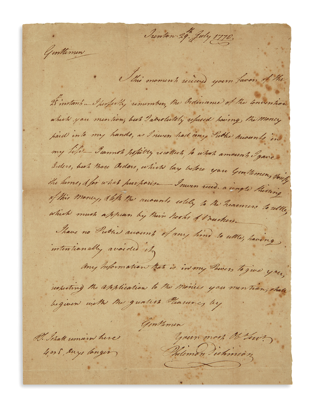 (AMERICAN-REVOLUTION--1778)-Dickinson-Philemon-A-New-Jersey-