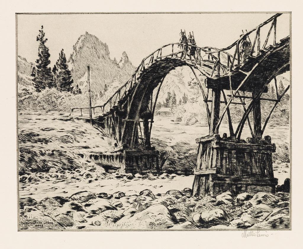 MARTIN-LEWIS-Bridge-Near-Nikko