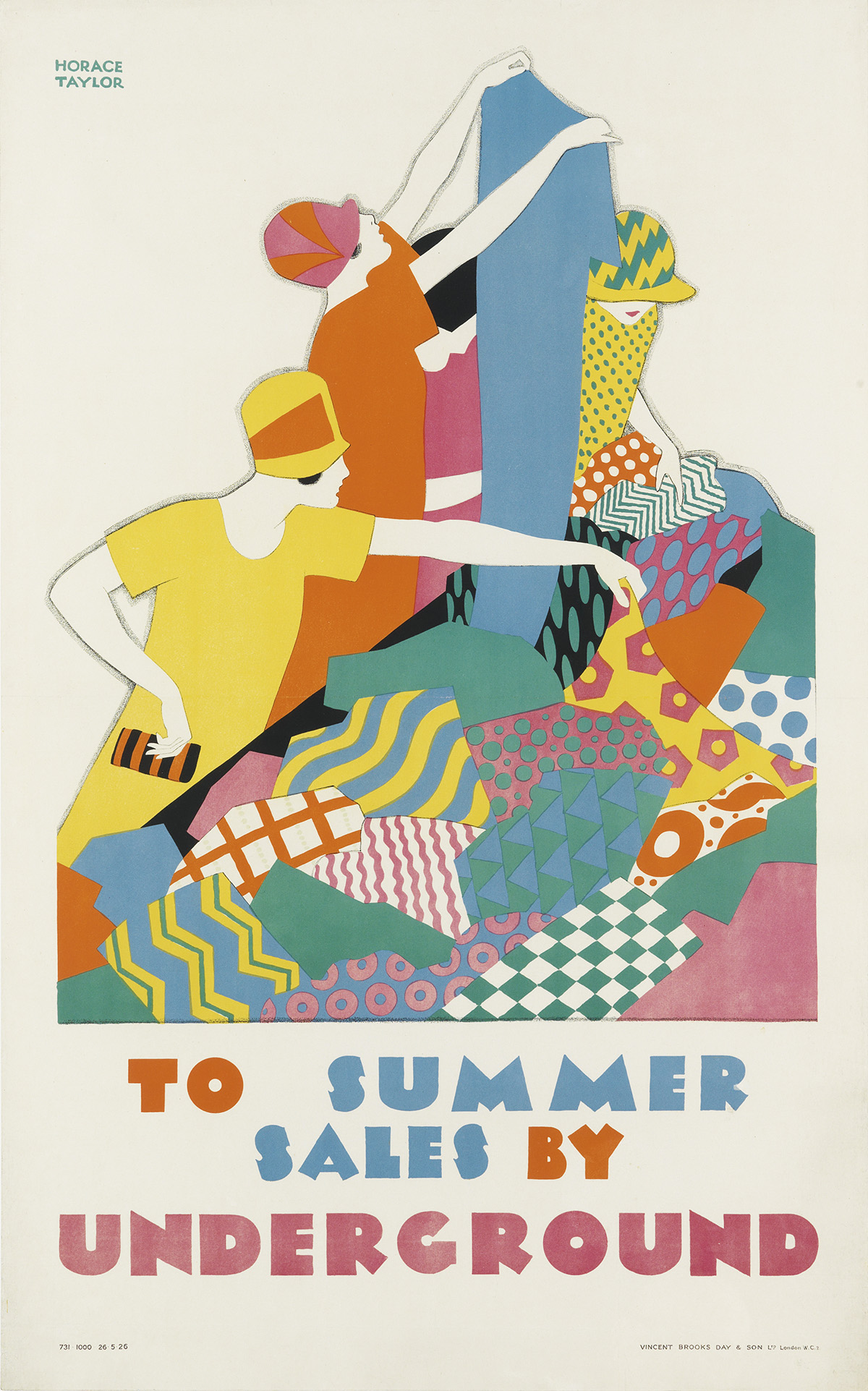 HORACE-TAYLOR-(1881-1934)-TO-SUMMER-SALES-BY-UNDERGROUND-192