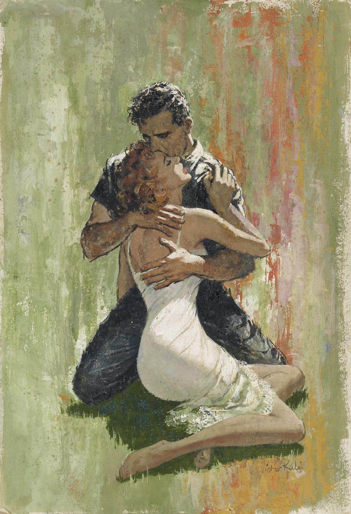 VICTOR-KALIN-(PULP--ROMANCE)-The-Embrace