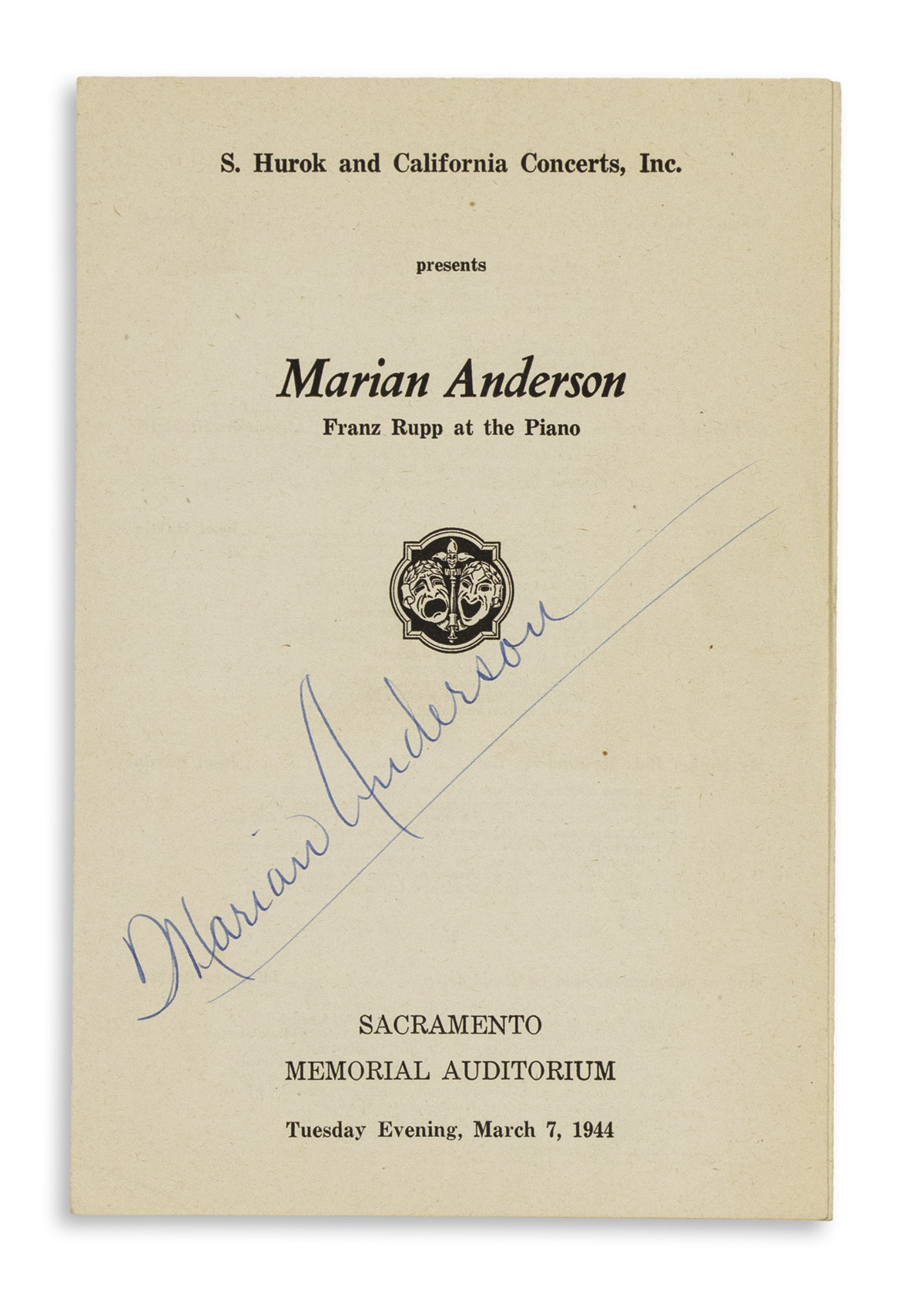 ANDERSON-MARIAN-Signature-on-the-cover-of-a-complete-program