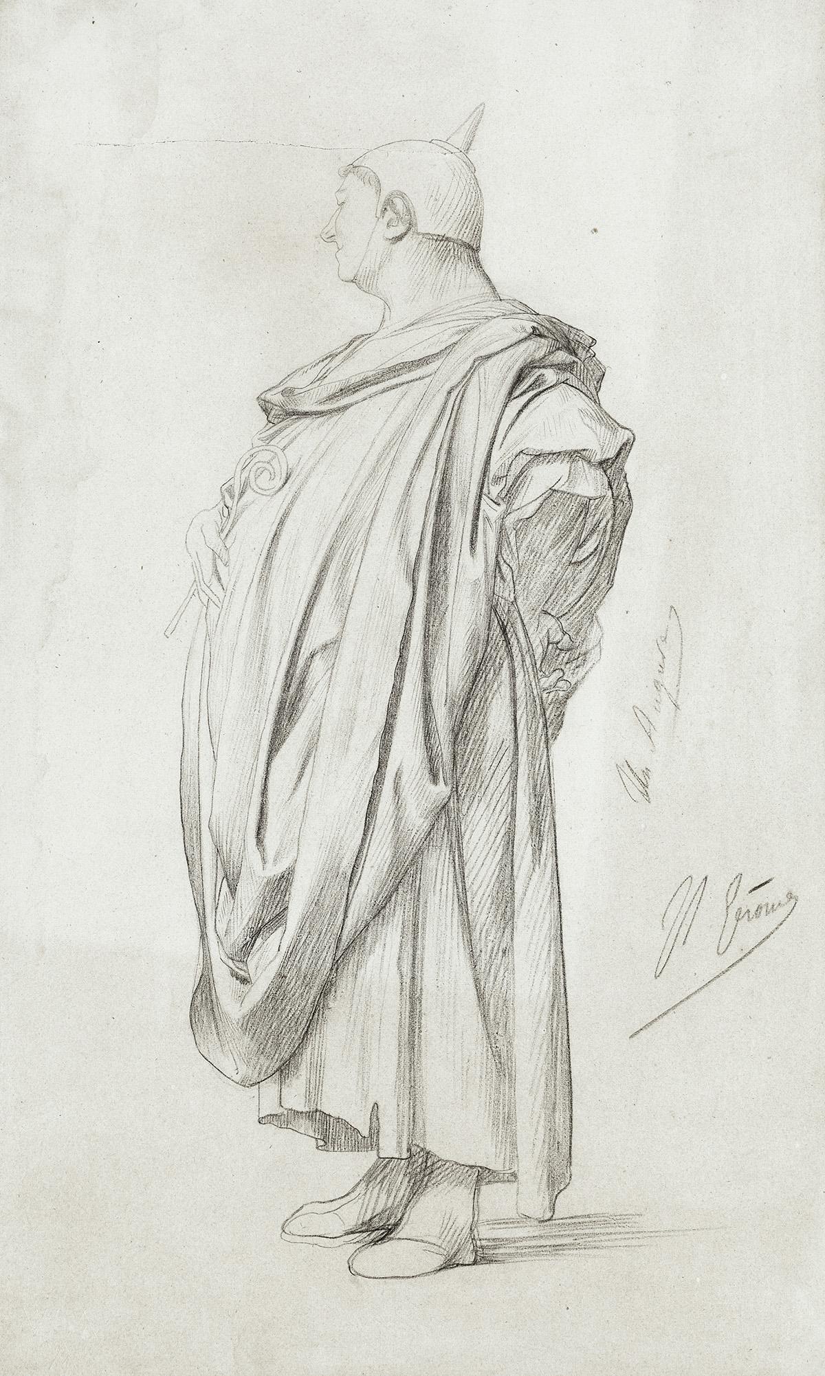 JEAN-LÉON-GÉRÔME-Étude-dun-Magistrat