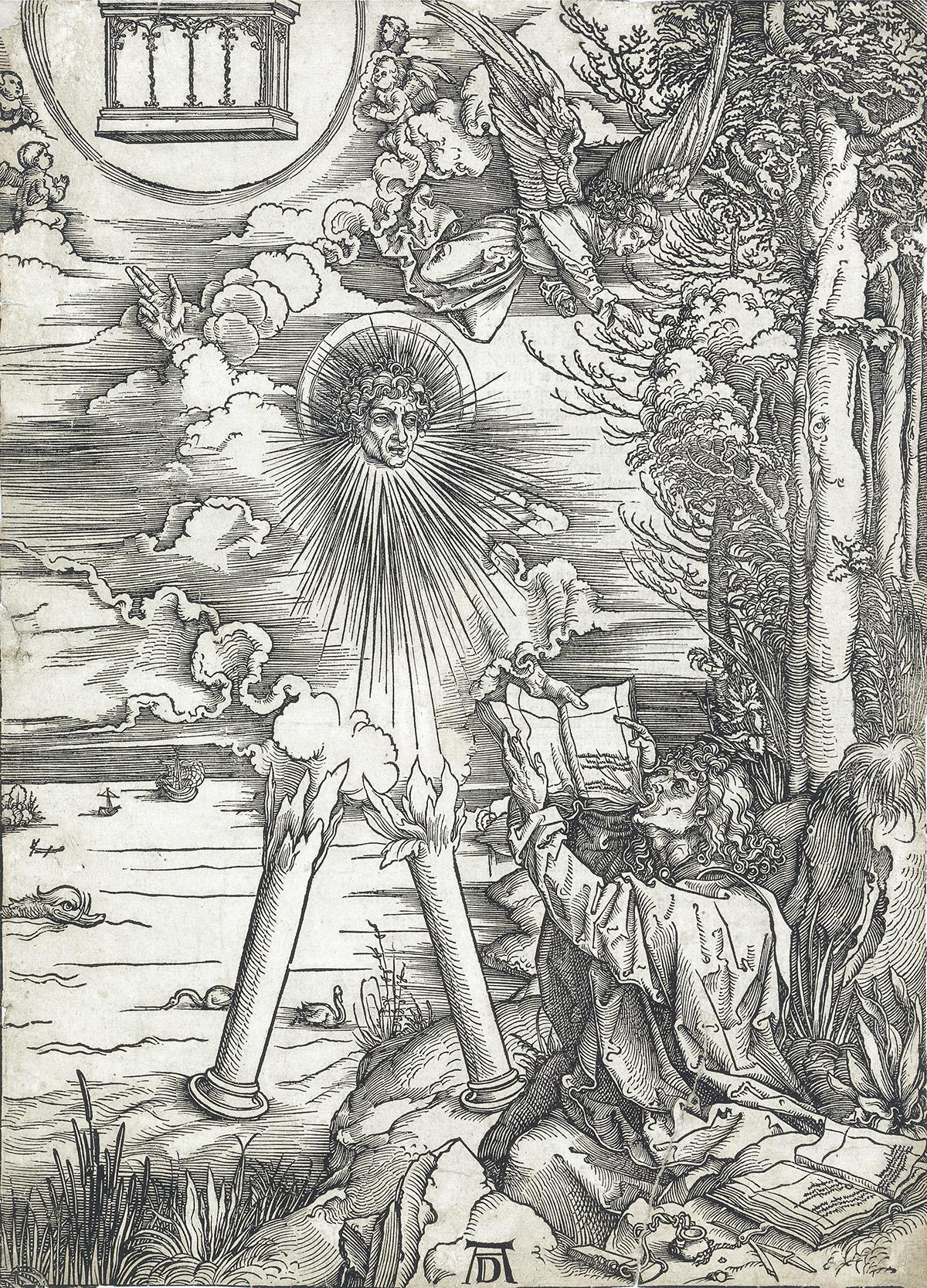 ALBRECHT-DÜRER-St-John-Devouring-the-Book