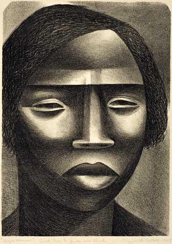 ELIZABETH-CATLETT-(1915----)-Negro-Woman