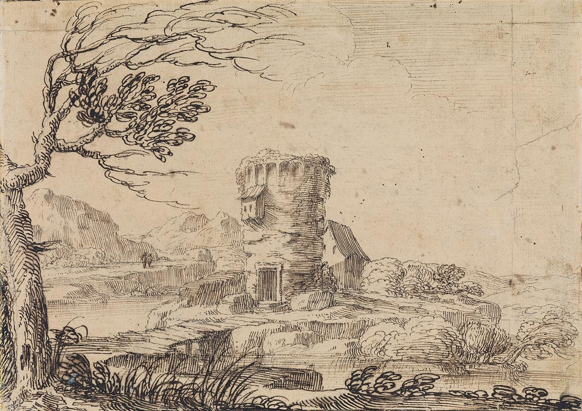 GIOVANNI-FRANCESCO-GRIMALDI-(Bologna-1606-1680-Rome)-A-Lands
