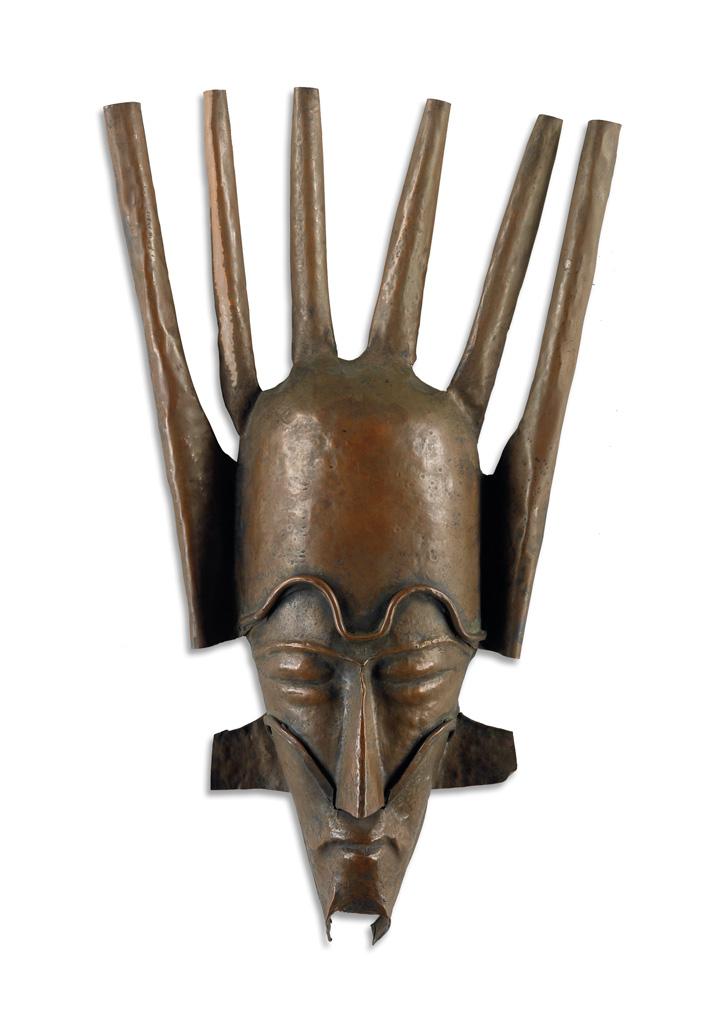 BEULAH WOODARD (1895 - 1955) Mask.