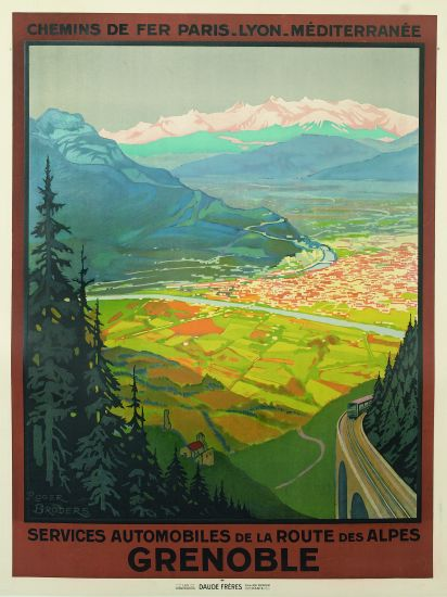 ROGER-BRODERS-(1883-1953)-GRENOBLE-Circa-1922-42x31-inches-1