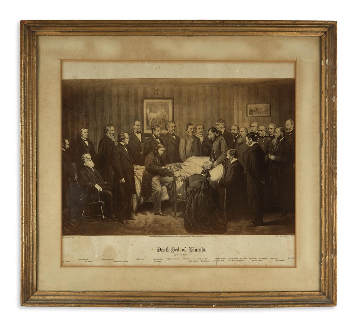 (PRINTS--ASSASSINATION)-Group-of-3-framed-prints-of-the-Linc