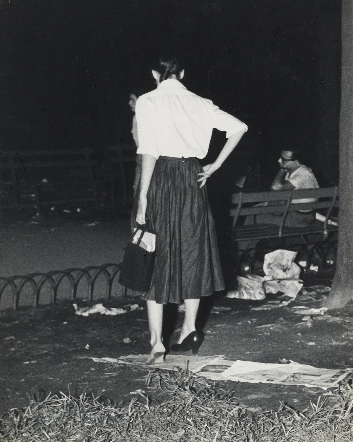WEEGEE-[ARTHUR-FELLIG]-(1899-1968)-Girl-with-Problem