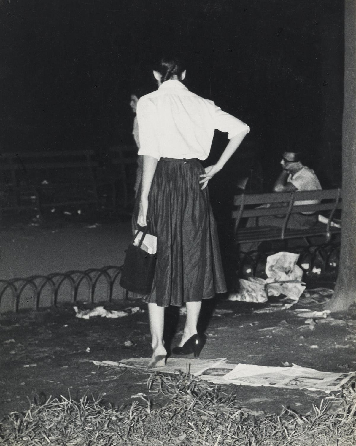 WEEGEE [ARTHUR FELLIG] (1899-1968) Girl with Problem.