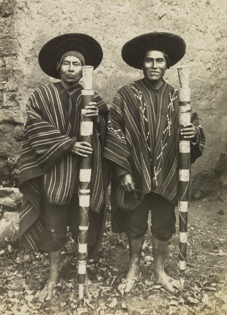 MARTIN CHAMBI (1891-1973) A remarkable suite of 50 scarce medium-format photographs of Cuzco, Peru.