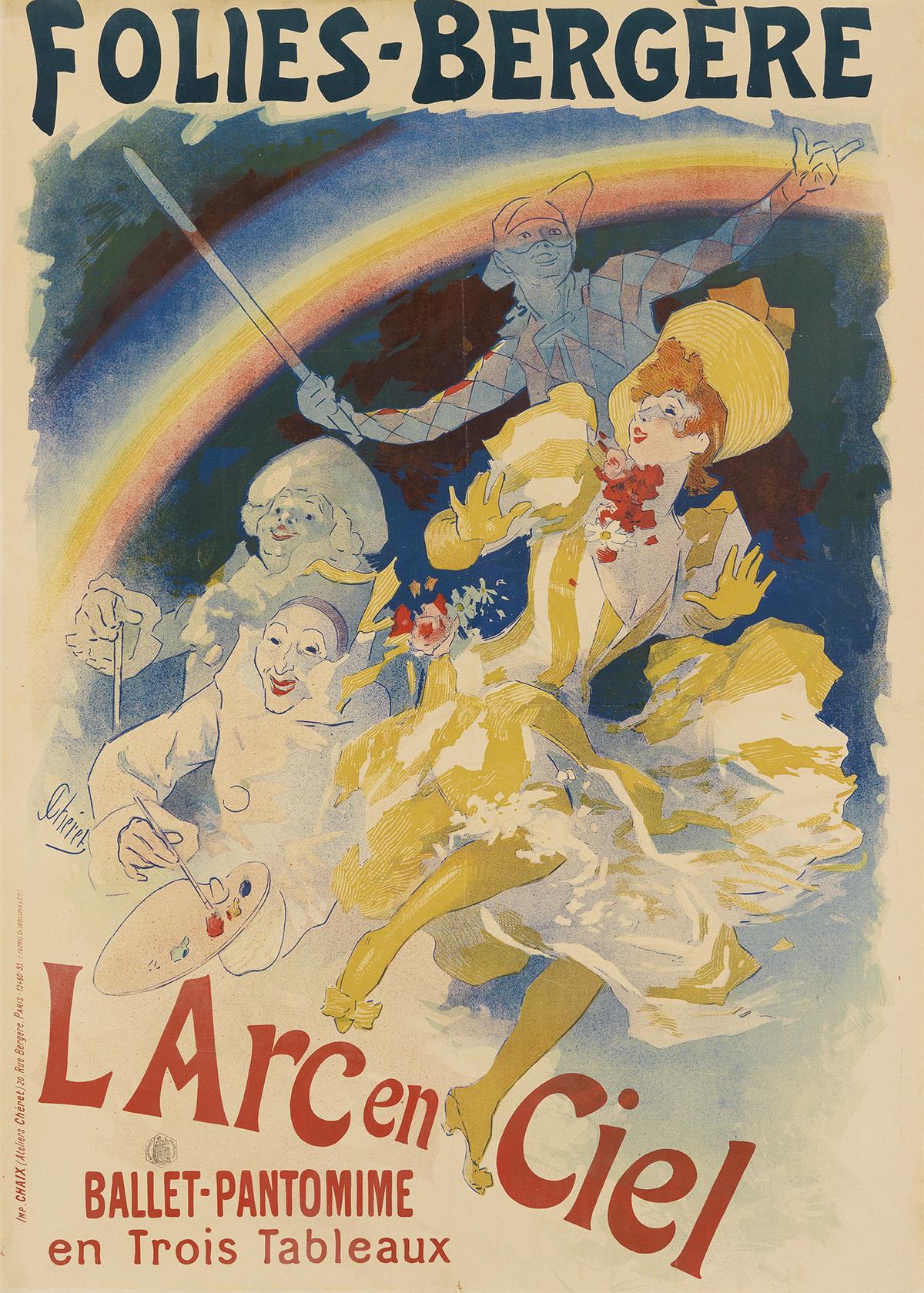 JULES-CHÉRET-(1836-1932)-FOLIES---BERGÈRE--LARC-EN-CIEL-1893