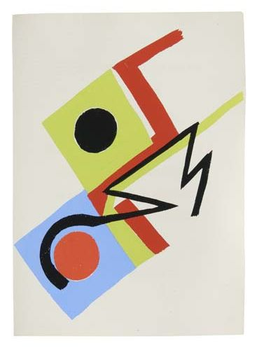 DELAUNAY, SONIA; and DAMASE, JACQUES. Rythmes - Couleurs.
