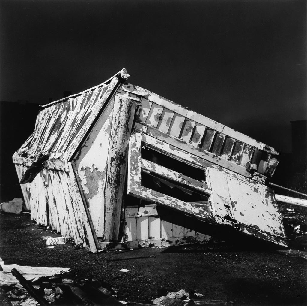 PETER HUJAR (1934-1987) Shack, Queens.