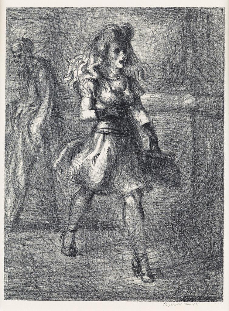 REGINALD-MARSH-Girl-Walking-(Elevated)