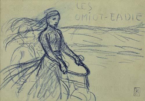 THÉOPHILE-ALEXANDRE-STEINLEN-(1859-1923)-CYCLES-COMIOT-EADIE