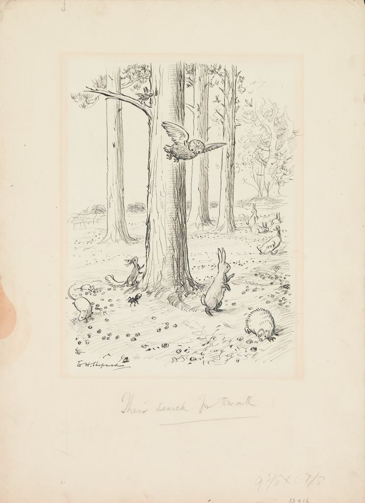 ERNEST H. SHEPARD. Their search for Small.