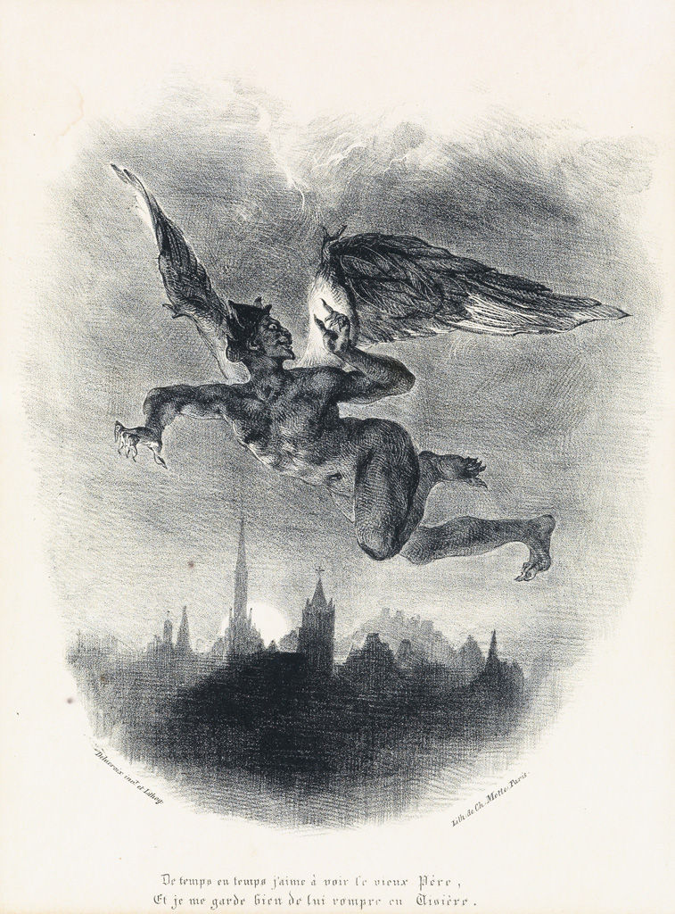 EUGÈNE-DELACROIX-Two-lithographs-from-Faust
