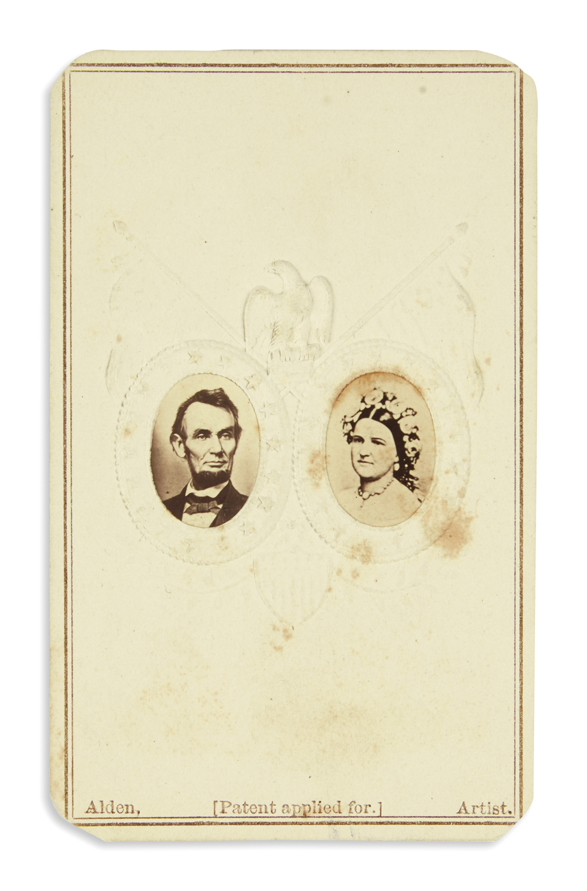 (PHOTOGRAPHY)-Group-of-34-cartes-de-visites-of-Lincoln-and-h