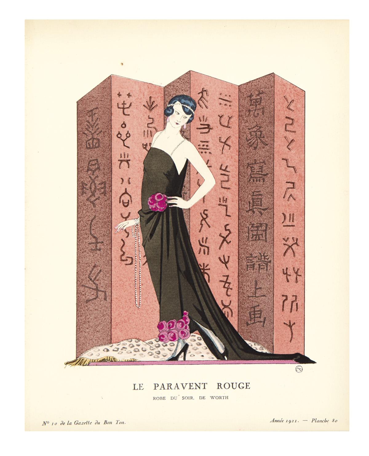 (DESIGN / FASHION / ART DECO / GEORGE BARBIER et al.) Le Bon Ton daprès-guerre (Art-Modes-Frivolités).